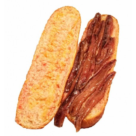 Bocadillo de anchoas